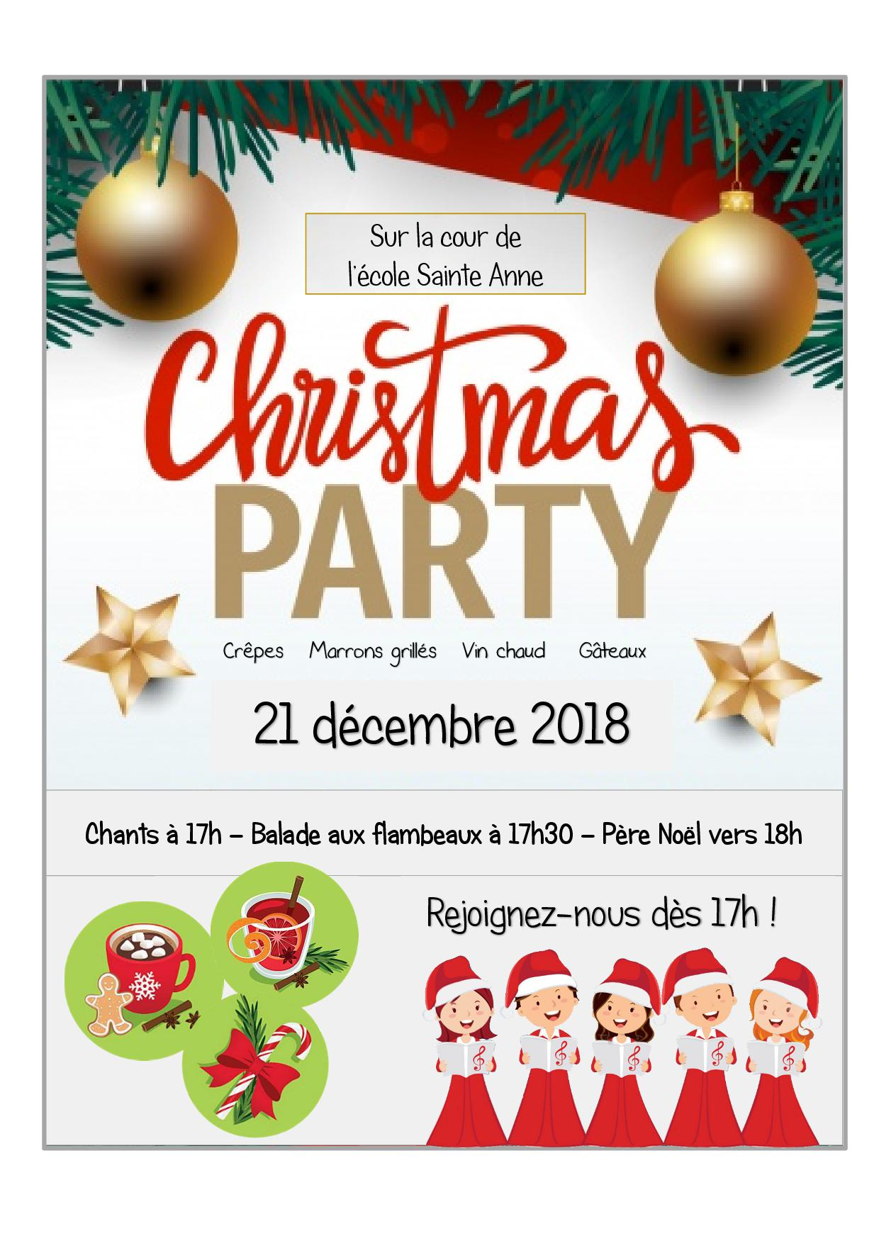 Affiche Christmas Party2